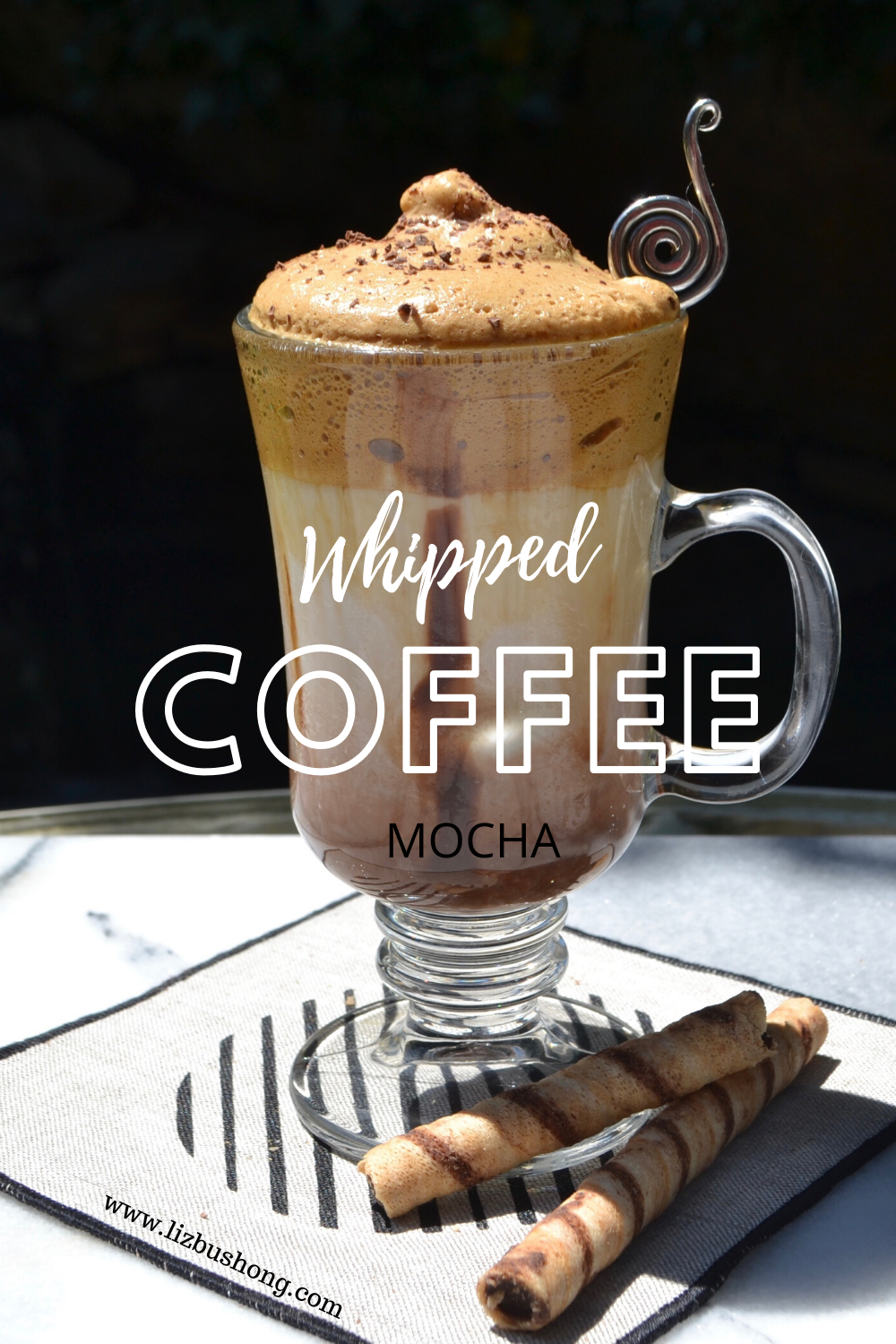 Whipped Coffee Coconut Mocha Single Serve Beverage- lizbushong.com