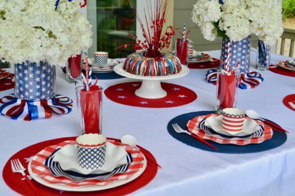 Best 4th of July Fireworks-Table Scape
