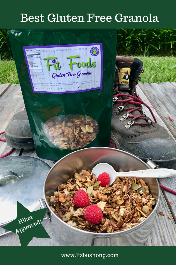 Best Granola Gluten Free Hiker Approved by Fit FOODS lizbushong.com