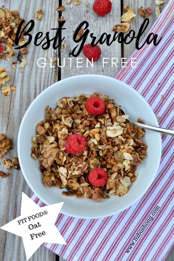 Best Granola Gluten Free By FIT FOODS lizbushong.com