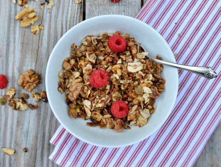 Gluten Free Granola by Fit Foods lizbushong.com