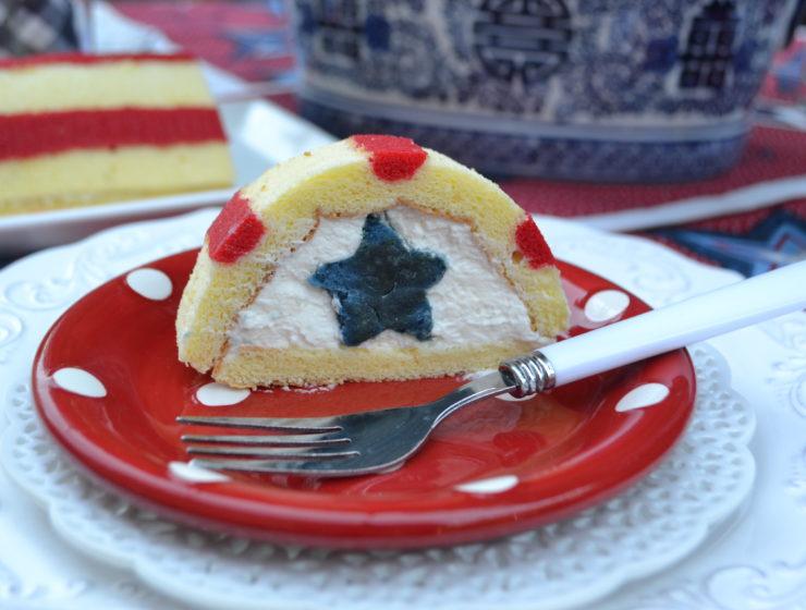 Patriotic Half Cake Roll lizbushong.com