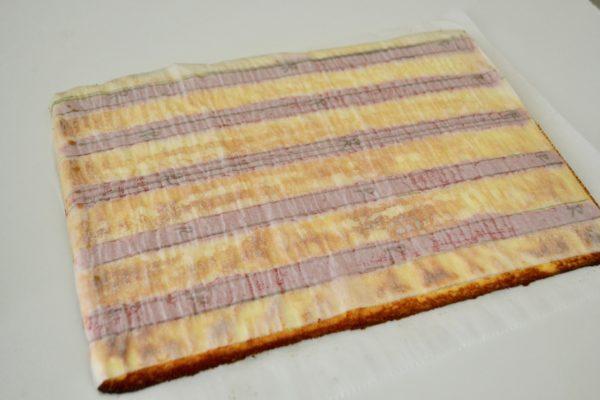 Patriotic Cake Roll Cake Paste Stripes lizbushong.com