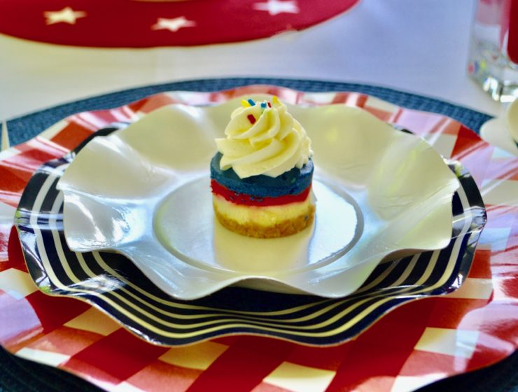 Red, White & Blue Placesetting lizbushong.com