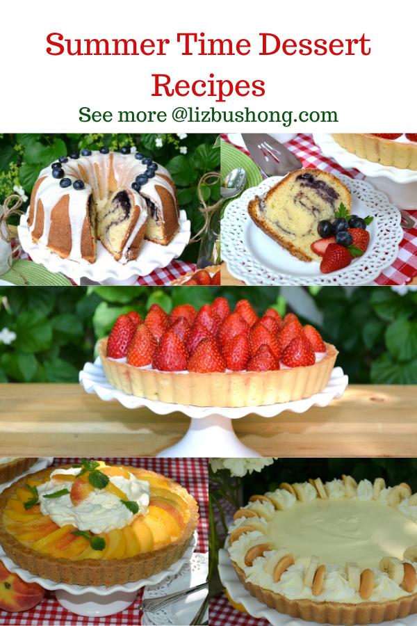 Summer Dessert Recipes lizbushong.com