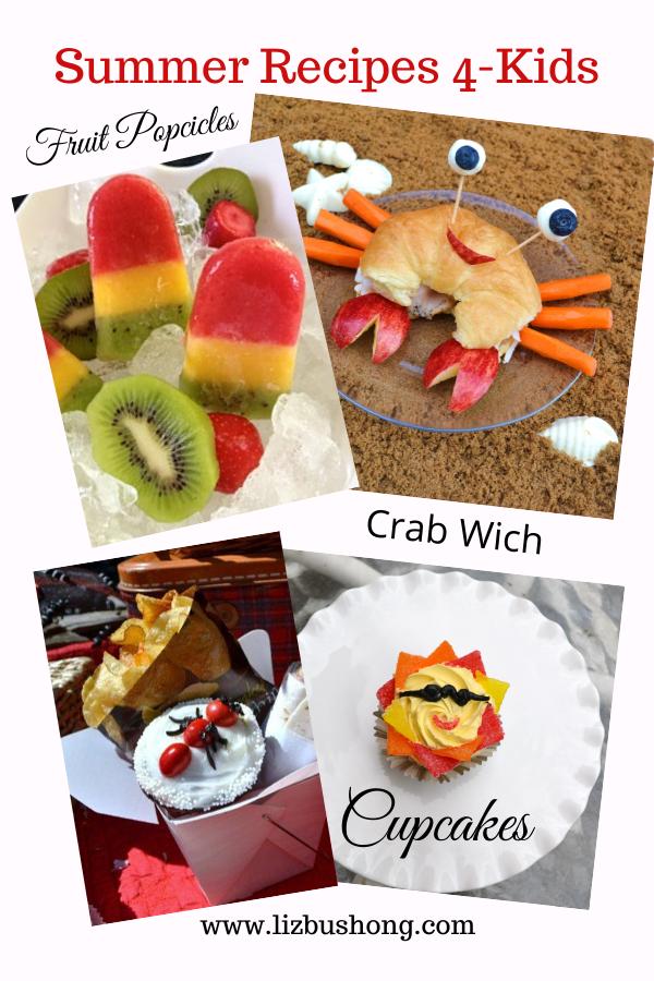 Summer Recipes for Kids lizbushong.com