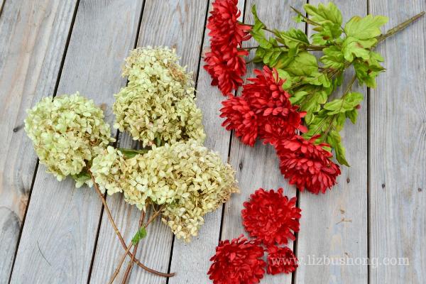 Fall Apple Wreath Florals lizbushong.com