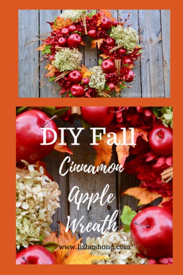 How to make apple wreath lizbushong.com