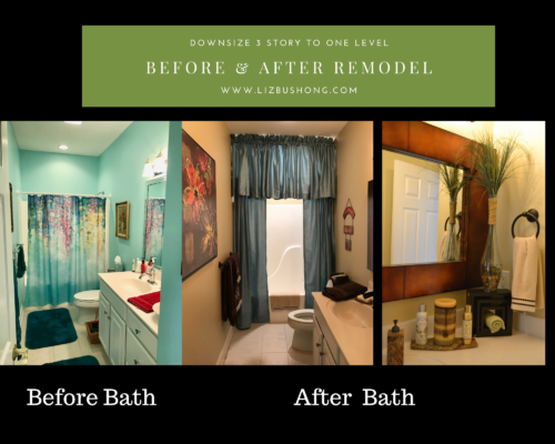 Before and after bath on main remodel lizbushong.com