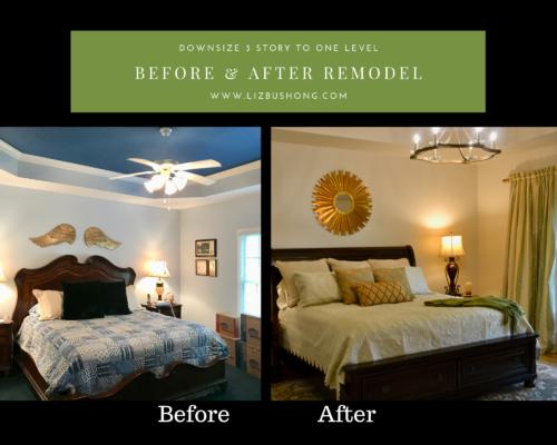 Before after remodel master bedroom lizbushong.com