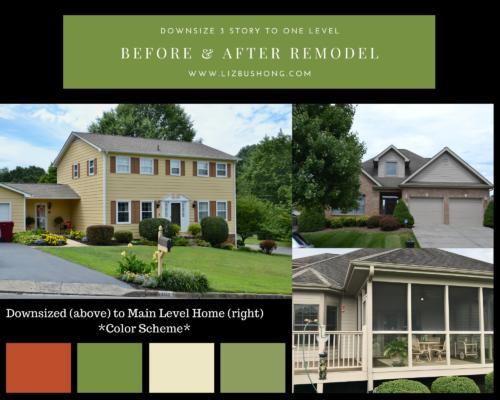 Before After Home Decor Remodel- lizbushong.com