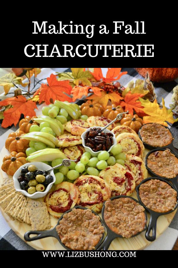 How to make Fall Charcuterie lizbushong.com