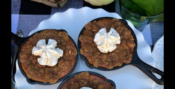 Best Ever Pumpkin Crisp Recipe lizbushong.com
