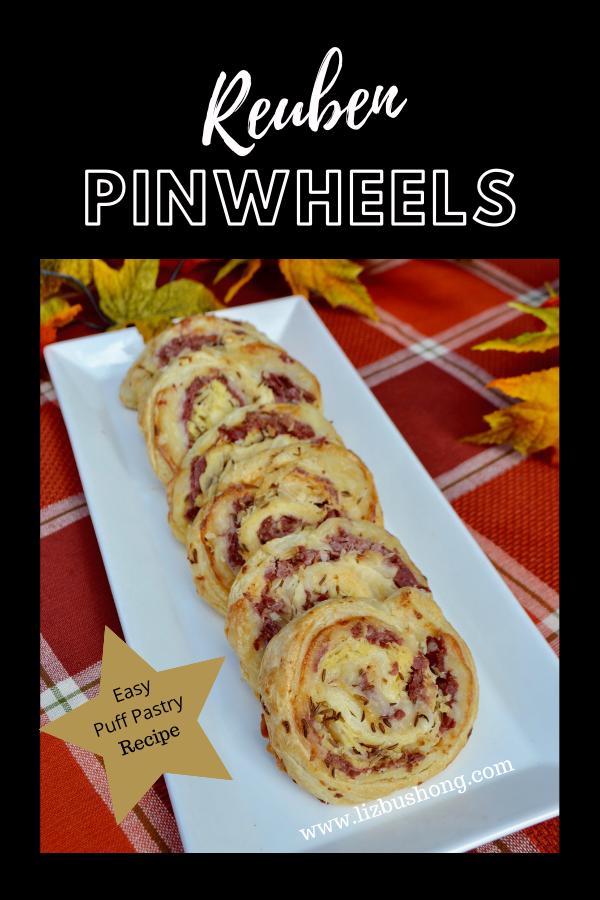 Reuben pinwheels Recipe lizbushong.com