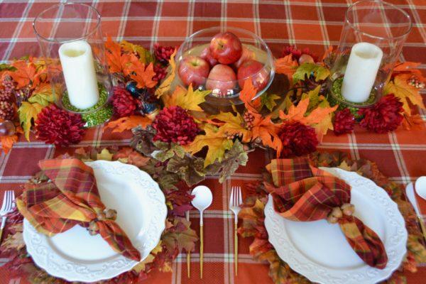 10 minute Harvest table runner lizbushong.com