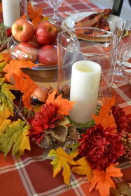 10 minute harvest table runner Idea lizbushong.com