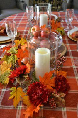 Harvest Table runner ideas lizbushong.com