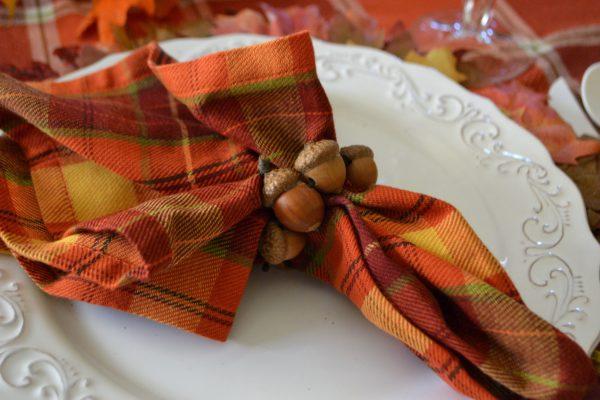 harvest acorn napkin ring lizbushong.com