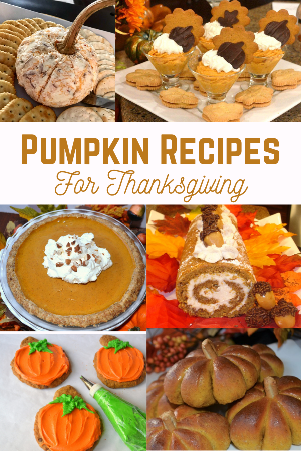 6 Pumpkin Recipes for Thanksgiving  lizbushong.com
