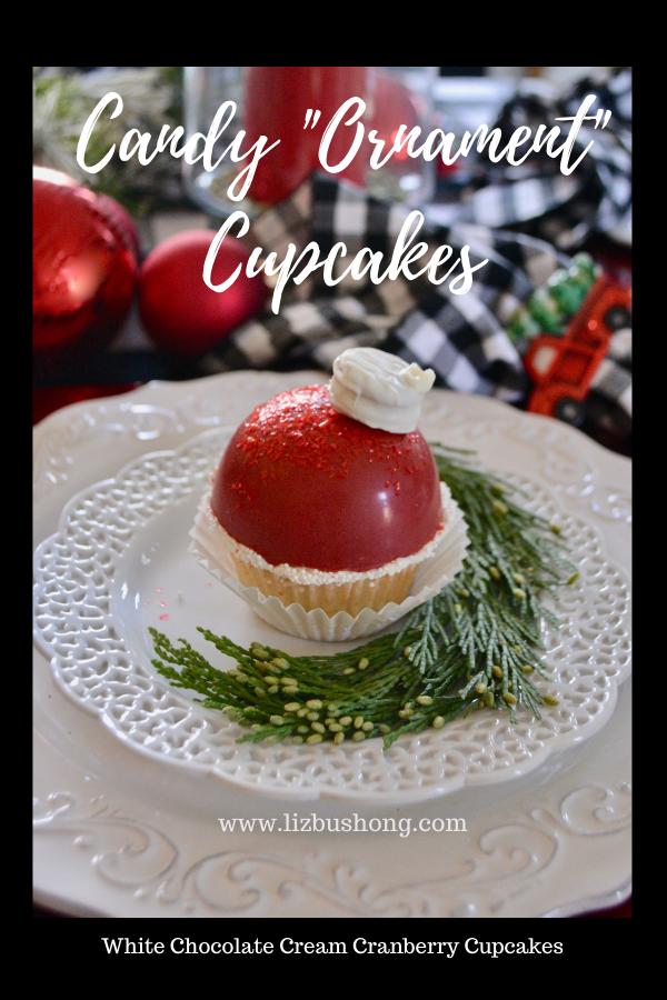 How to Make Candy Ornament Cupcakes lizbushong.com