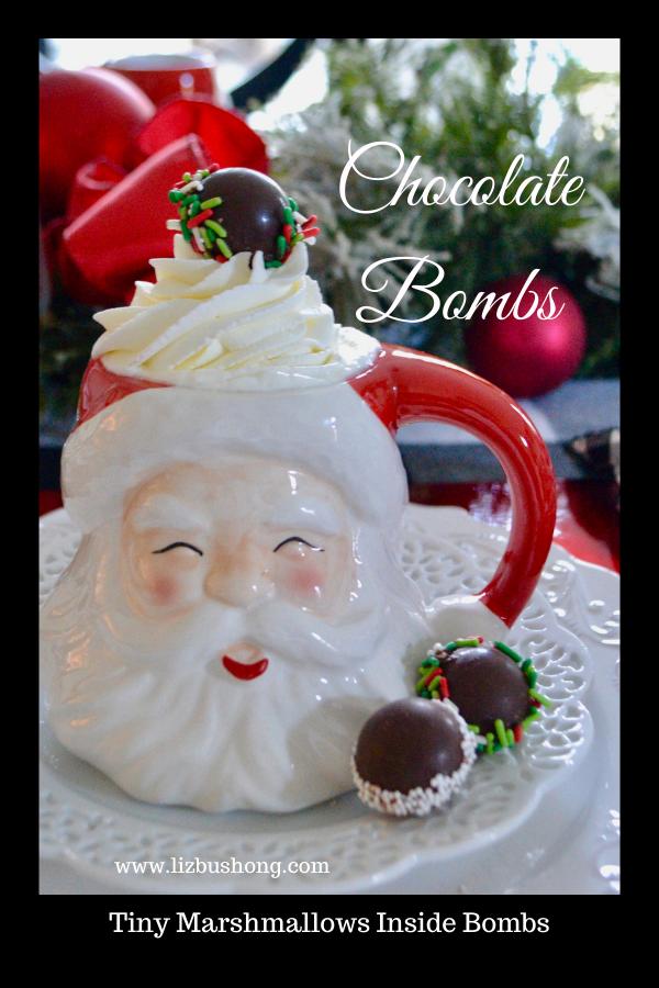 How to make Chocolate Bombs, lizbushong.com