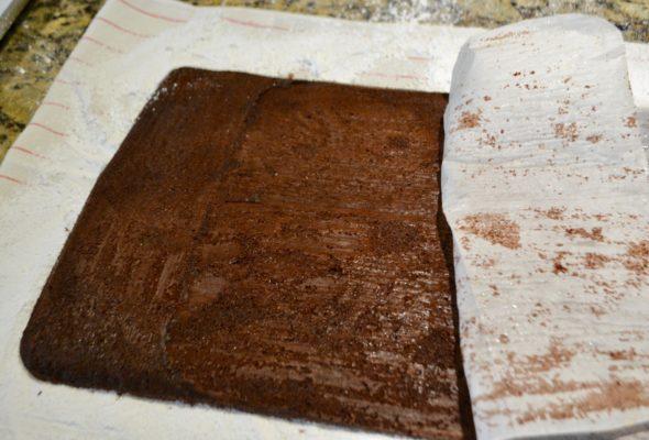 Chocolate Cake Yule Log Recipe lizbushong.com