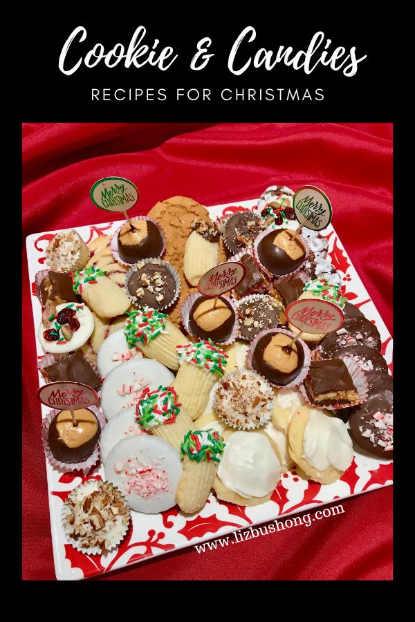 Cookies & Candy Tray Recipes for Christmas lizbushong.com