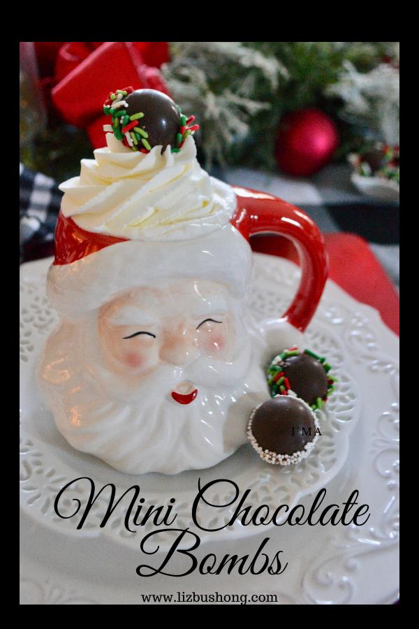 Easy Mini Chocolate Bombs, lizbushong.com