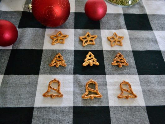 Holiday Shaped pretzels