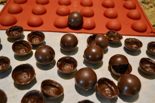 Chocolate Bomb shells lizbushong.com