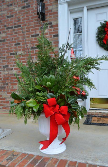 Porch Pot Arrangement lizbushong.com