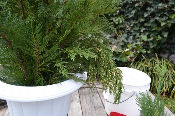 How to make a porch pot. lizbushong.com