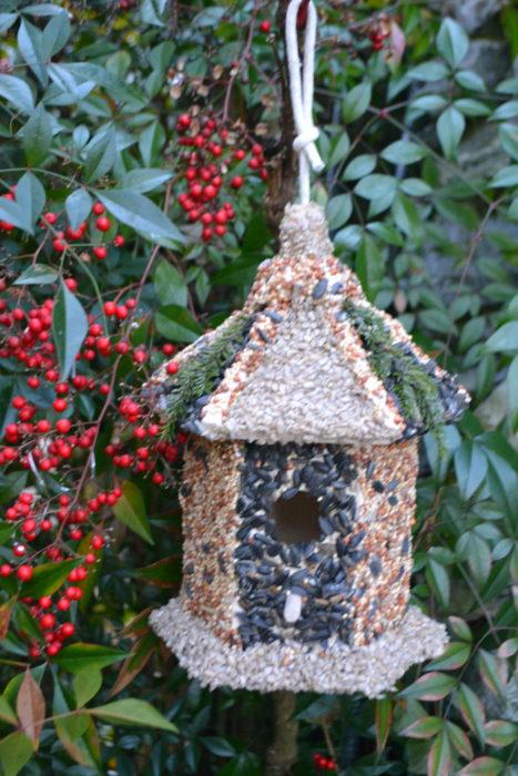 bird house in tree lizbushong.com