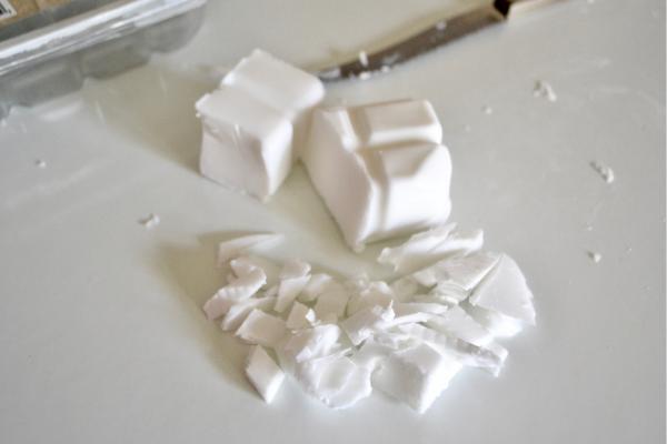 How to make snowflake soap Lizbushong.com