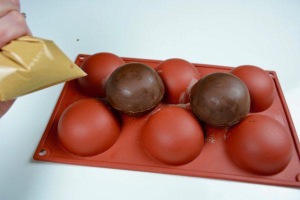 How to Make Mocha Hot Chocolate Bombs lizbushong.com
