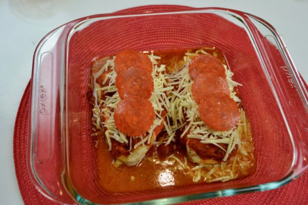 How to make Pizza Stuffed Chicken breast lizbushong.com