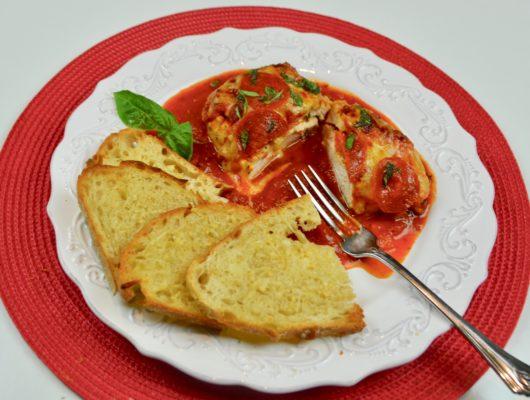 How to make Pizza stuffed chicken lizbushong.com