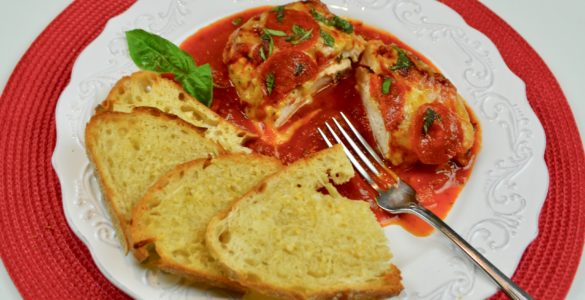 How to make Pizza stuffed chicken lizbushong.com