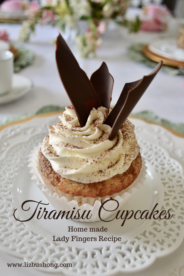 How to Make Tiramisu Cupcakes lizbushong.com