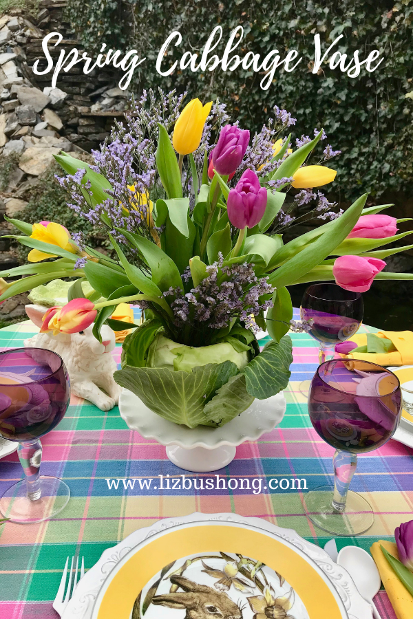 How to make Spring Cabbage Vase