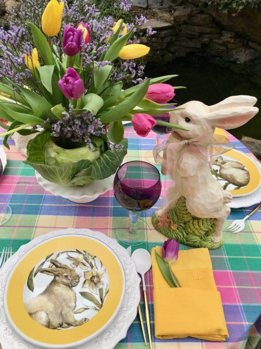 How to make Cabbage vase Bunny lizbushong.com