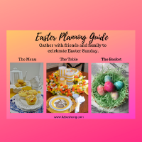 How to Easter Planning Guide lizbushong.com