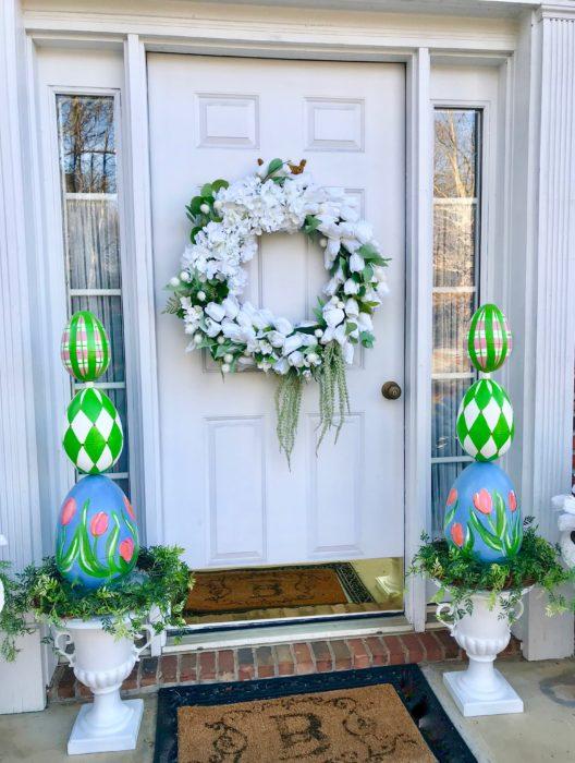 How to make a white tulip wreath lizbushong.com