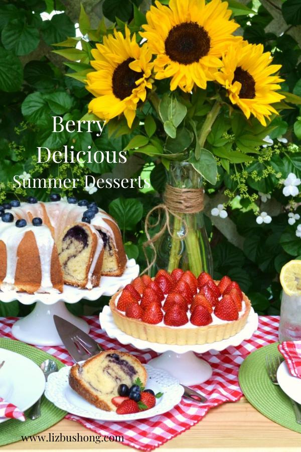 Berry Delicious Summer Desserts Ideas lizbushong.com