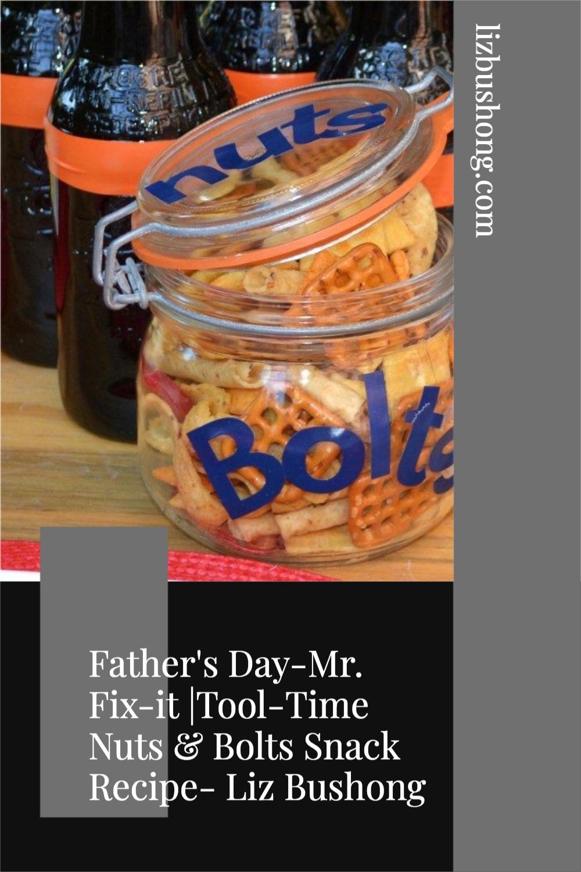 How to make Nuts & Bolts snack mix recipe lizbushong.com
