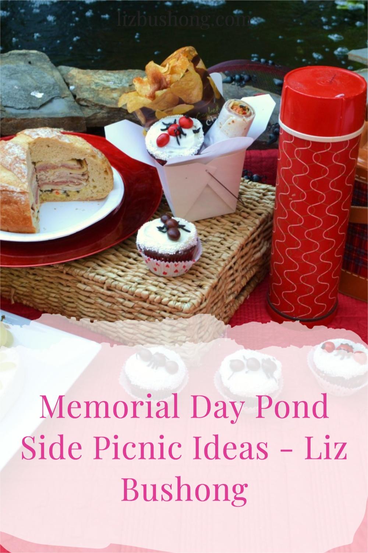How to create a memorial day pond or lake side picnic lizbushong.com