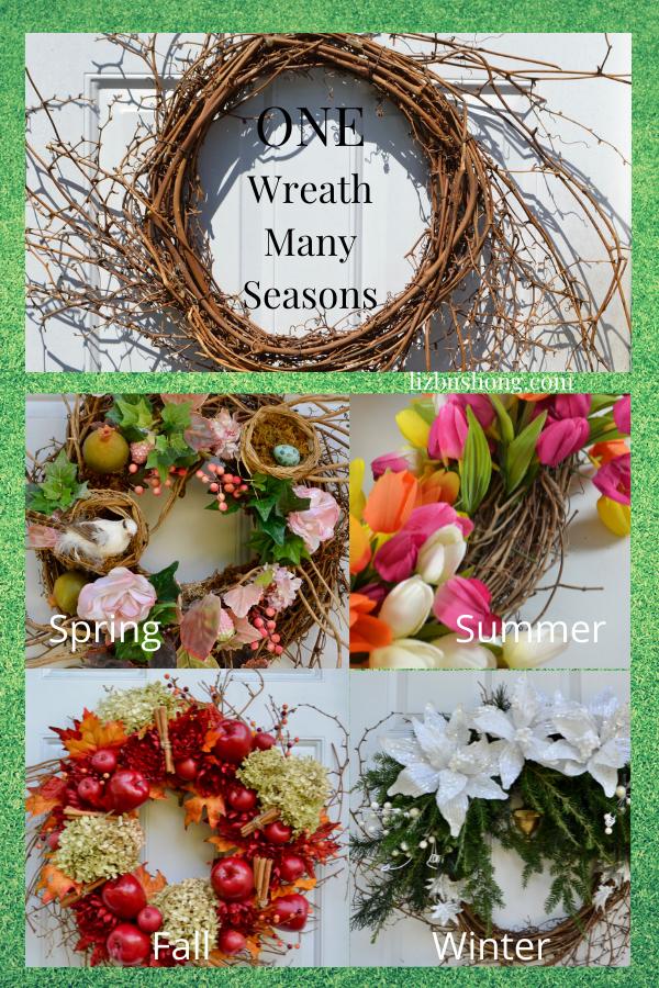 How to Use One Wreath with Many Seasons lizbushong.com