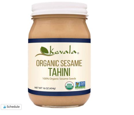 Organic tahini for hummus screen shot
