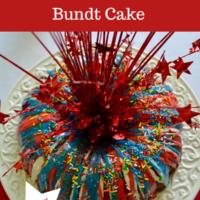 How to Make Fireworks Bundt Cake lizbushong.com
