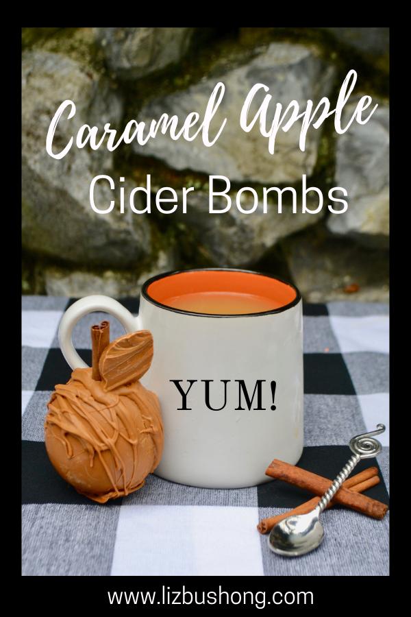 How to make caramel apple cider bombs lizbushong.com